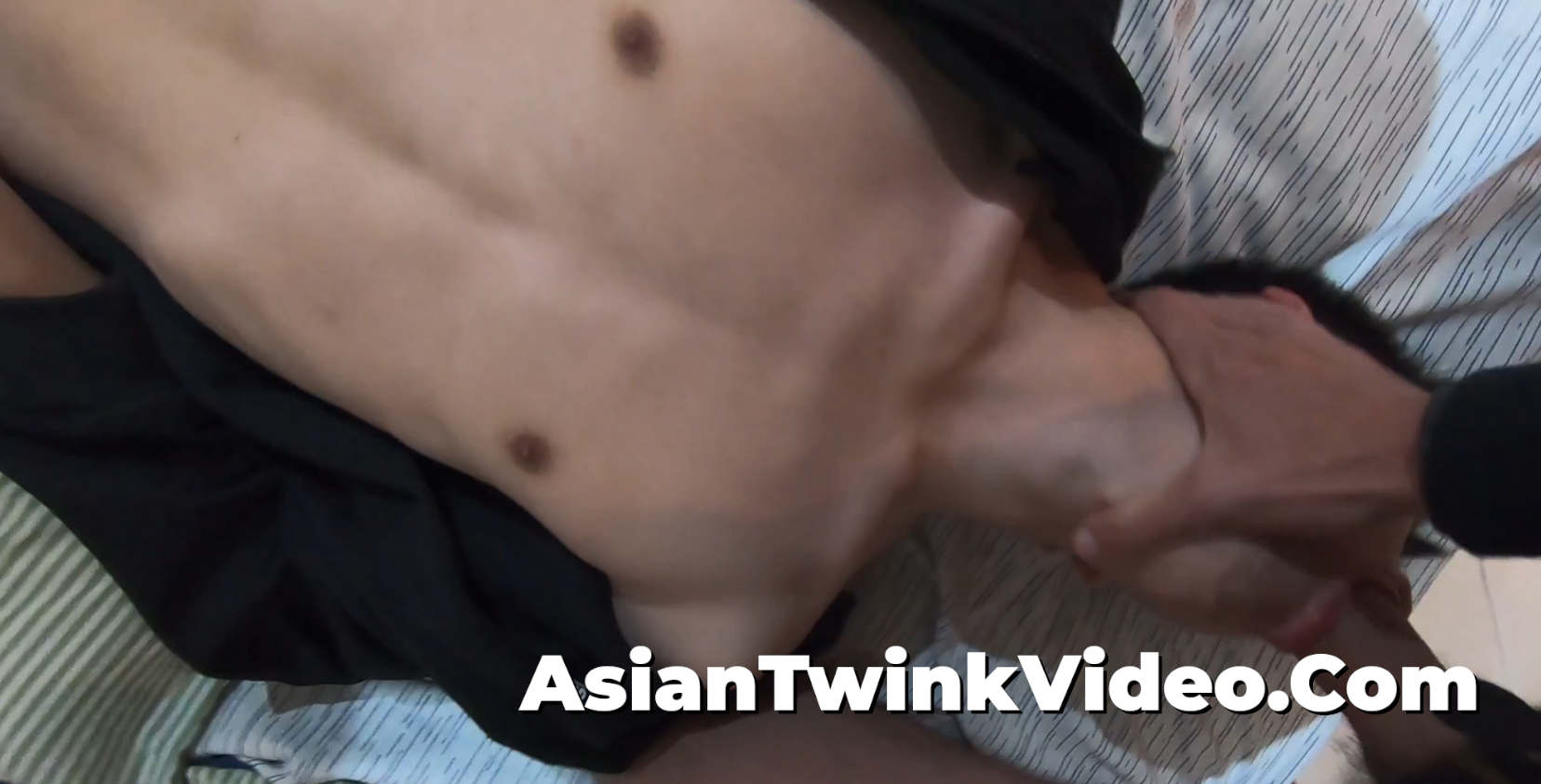 Stretching And Breeding Cute Asian Gay Twink
