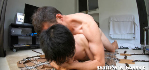Asian Twink Getting Punished by Daddy