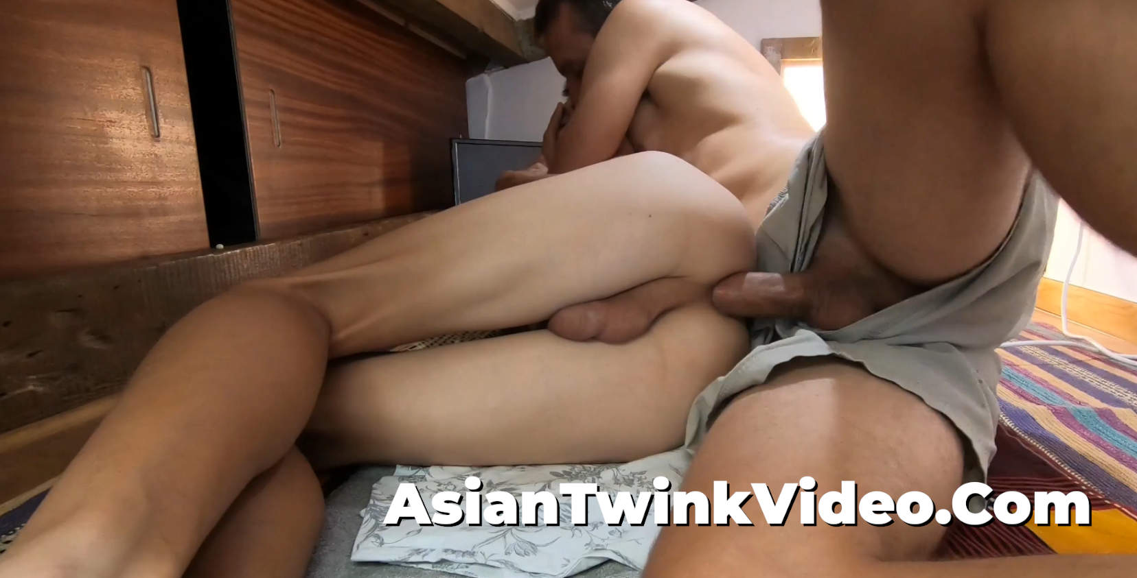 Dominating & Breeding a Young Asian Twink's Ass