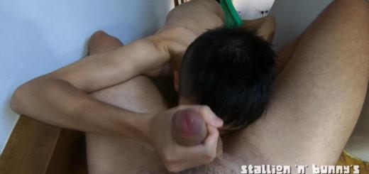 Naughty Boy Sucking His Best Friend in the Attic