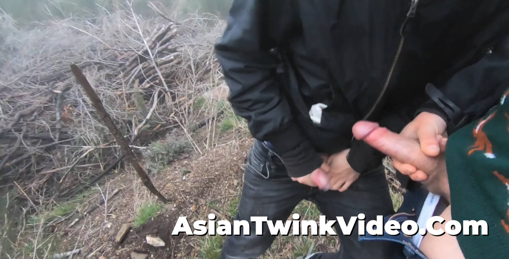 Outdoor Gay Twink Sex in the Clouds!